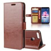Vilo flip cover brun Huawei P smart Mobilcovers