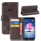 Flip cover i split læder brun Huawei P smart Mobilcovers
