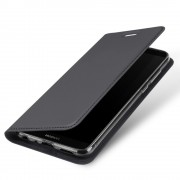 Slim flip cover mørkegrå Huawei P smart Mobilcovers
