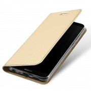 Slim flip cover guld Huawei P smart Mobilcovers