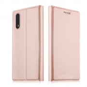Slim flip cover rosaguld Huawei P20 Mobilcovers