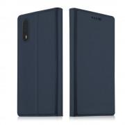 Slim flip cover blå Huawei P20 Mobilcovers