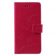 Huawei P smart cover med mønster rosa Mobil tilbehør