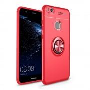 Huawei P10 lite Cover med ring holder rød Mobil tilbehør