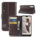 Huawei P20 pro cover ægte læder brun