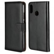 Cover ægte læder Huawei P20 lite Mobil tilbehør