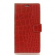 Vintage cover croco rød Huawei P20 lite Mobil tilbehør