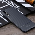 Carbon style tpu cover Huawei P20 pro blå