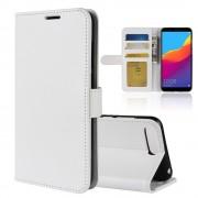 Vilo flip cover hvid Huawei Y6 2018 Mobil tilbehør