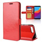 Vilo flip cover rød Huawei Y6 2018 Mobil tilbehør