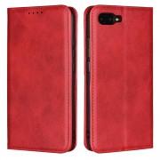Cryo læder cover rød Honor 10 Mobil tilbehør
