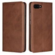 Cryo læder cover mørkebrun Honor 10 Mobil tilbehør