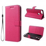 Huawei P Smart flip cover rosa Mobil tilbehør