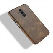 brun Stilfuld læder case Huawei Mate 20 lite Mobil tilbehør