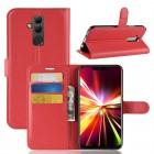 Huawei Mate 20 lite Vilo flip cover rød Mobil tilbehør
