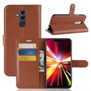 Huawei Mate 20 lite Vilo flip cover brun Mobil tilbehør