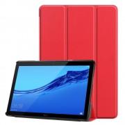 Huawei T5 10,1 rød klassisk folde cover Ipad og Tablet tilbehør
