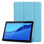 Huawei T5 10,1 lyseblå klassisk folde cover Ipad og Tablet tilbehør