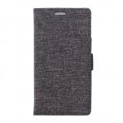 HUAWEI HONOR 5X mønstret læder cover grå, Mobiltelefon tilbehør