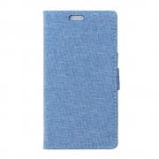 HUAWEI HONOR 5X mønstret læder cover lyseblå, Mobiltelefon tilbehør