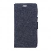 HUAWEI HONOR 5X mønstret læder cover blå, Mobiltelefon tilbehør