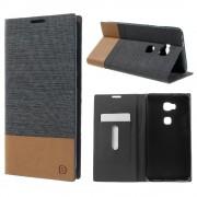HUAWEI HONOR 5X læder cover grå, Mobiltelefon tilbehør