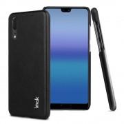 sort Stilfuld læder case Huawei P20 Mobil tilbehør