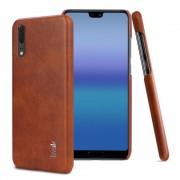 brun Stilfuld læder case Huawei P20 Mobil tilbehør