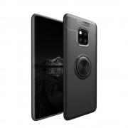 sort Cover med ring holder Huawei Mate 20 Pro Mobil tilbehør