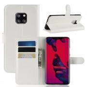 hvid Igo flip cover Huawei Mate 20 Pro Mobil tilbehør