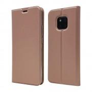 rosaguld Slim flip cover Huawei Mate 20 Pro Mobil tilbehør
