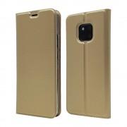 guld Slim flip cover Huawei Mate 20 Pro Mobil tilbehør