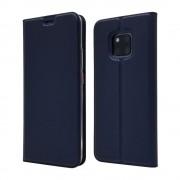 blå Slim flip cover Huawei Mate 20 Pro Mobil tilbehør