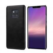 sort Retro læder case Huawei Mate 20 Pro Mobil tilbehør