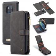 sort 2 i 1 cover med multi lommer Huawei Mate 20 Pro