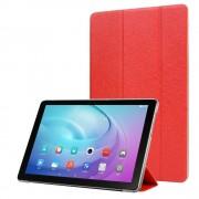 rød 3 folds cover Huawei T5 10,1 Ipad og Tablet tilbehør