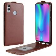 Viser Huawei P smart (2019) vertikal cover brun