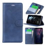 Huawei P smart (2019) blå Etui m lommer Mobil tilbehør