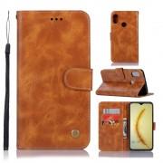Viser Vintage etui Huawei P smart (2019) brun
