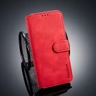 Viser Retro etui til Huawei P smart 2019 rød
