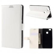 HUAWEI P9 LITE læder pung cover hvid, Mobiltelefon tilbehør