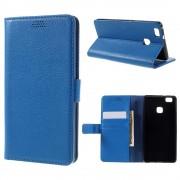 HUAWEI P9 LITE læder pung cover blå, Mobiltelefon tilbehør