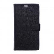 HUAWEI P9 PLUS ægte læder cover med kort lommer sort, Mobiltelefon tilbehør