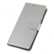 sølv S-line flip cover Huawei Y6 2019 Mobil tilbehør