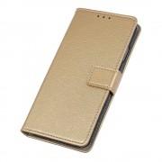 guld S-line flip cover Huawei Y6 2019 Mobil tilbehør