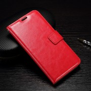 HUAWEI P9 pung læder cover rød, Mobiltelefon tilbehør