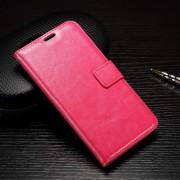 HUAWEI P9 pung læder cover rosa, Mobiltelefon tilbehør