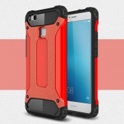 til Huawei P9 lite cover Armor Guard rød Mobiltelefon tilbehør