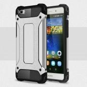 Til Huawei Ascend P8 lite sølv cover Armor Guard Leveso.dk Mobiltelefon tilbehør