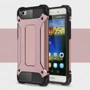 Til Huawei Ascend P8 lite rosa guld cover Armor Guard Mobiltelefon tilbehør